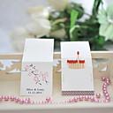 halpa Hääkoristeet-Häät / Party Materiaali Kova kartonki Wedding Kunniamerkit Kukkais-teema / Wedding Kevät Kesä Kaikki vuodenajat