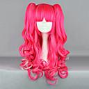 preiswerte Lolita Perücken-Lolita Perücken Punk Rot Lolita Lolita Perücken 26 Zoll Cosplay Perücken Solide Perücke Halloween-Perücken