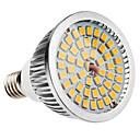 billige LED-lyspærer-6W 500-600lm E14 LED-spotpærer MR16 48 LED perler SMD 2835 Varm hvit 100-240V