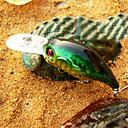 abordables Cebos y Moscas de Pescar-1 pcs Señuelos duros / Manivela / Cebos Señuelos duros / Manivela Plástico duro Pesca de Mar / Pesca de agua dulce