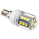 halpa LED-lamput-3W 5500lm E14 LED-maissilamput T 27 LED-helmet SMD 5050 Neutraali valkoinen 220-240V