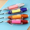 זול כתיבה-עט עֵט עטים כדוריים עֵט, פלסטי כחול צבעי דיו For ציוד בית ספר ציוד משרדי חבילה של