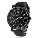 preiswerte Modische Uhren-V6 Herrn Armbanduhr Armbanduhren für den Alltag Silikon Band Charme Schwarz / Zwei jahr / Mitsubishi LR626