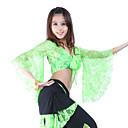 cheap Belly Dance Wear-Belly Dance Tops Women's Training Lace 3/4 Length Sleeve Top / Ballroom