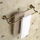 preiswerte Handtuchhalter-Handtuchhalter Antike Messing 1 Stück - Hotelbad 2-Turm-Bar