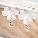 ieftine Fâșie Becuri LED-Pentru femei Diamant sintetic Cercei Picătură - Ștras Fluture, Animal Design Unic, stil minimalist Alb Pentru Petrecere / Zilnic