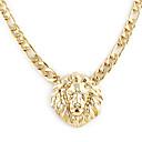 halpa Muotikaulakorut-Naisten Riipus-kaulakorut - Gold Plated Leijona, Animal Muoti Kulta Kaulakorut Käyttötarkoitus Häät, Party, Päivittäin