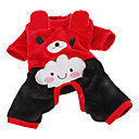 billige Pet juledragter-Hund Kostume Bukser Hundetøj Rød Lys pink Kostume For kæledyr Cosplay Halloween