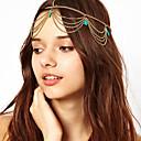 cheap Historical & Vintage Costumes-Women's Headband / Headwear / Tassel Alloy Classic Style / Headbands / Party / Headbands / Gold