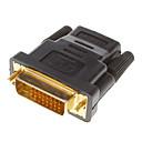 baratos Cabos & Adaptadores Displayport-DVI 24 +1 macho para HDMI V1.3 feminino conversor adaptador HDTV