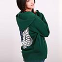 povoljno Anime kostimi-Inspirirana Napad na Titanu Mikasa Ackermann Anime Cosplay nošnje Japanski cosplay Hoodies Print Dugih rukava Kaput Za Žene