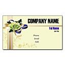 preiswerte Customized Karten-200pcs Personalisierte 2 Seiten gedruckt Mattfilm Blumenkohl-Muster-Visitenkarte