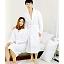 levne Bath Robes-Vynikající kvalita Župan, Jednobarevné 100% bavlna Koupelnové