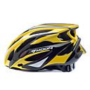 Χαμηλού Κόστους Παιχνίδια καρτών και πόκερ-MOON Ενήλικες Bike Helmet 25 Αεραγωγοί Ανθεκτικό στα Χτυπήματα EPS, PC Αθλητισμός Ποδηλασία Δρόμου / Ποδηλασία / Ποδήλατο / Ποδήλατο Βουνού - Κίτρινο / Μαύρο Ανδρικά / Γυναικεία