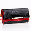 cheap Wallets-Men's / Women's Bags PU / Cowhide Clutch / Wristlet for Casual Red / Blue / Pink