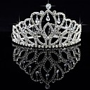 cheap Party Headpieces-Crystal / Fabric / Alloy Tiaras with 1 Wedding / Special Occasion / Party / Evening Headpiece