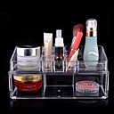 cheap Boxes, Bags & Pots-Makeup Cosmetics Storage Removable Drawears / 2 Tiers Makeup 1 pcs Acrylic / Plastic Classic Daily Cosmetic Grooming Supplies