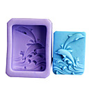 cheap Headsets & Headphones-Bakeware tools Silicone Eco-friendly For Cookie For Cake Cake Molds