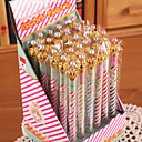 זול כתיבה-עפרון עֵט עפרונות מכאניים עֵט, פלסטי שחור צבעים אקראיים צבעי דיו For ציוד בית ספר ציוד משרדי חבילה של