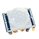 hesapli Işık Anahtarı-HC-SR501 IR Pyroelektrik Kızılötesi Hareket Sensörü PIR Dedektörü Modülü ayarlayın