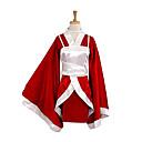 hesapli Video Oyun Kostümleri-Esinlenen LOL Akari Video oyun Cosplay Kostümleri Cosplay Takımları / Kimono Kırk Yama Uzun Kollu Yelek / Kimono Palto Cadılar Bayramı Kostümleri