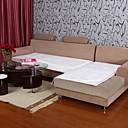 halpa Irtopäälliset-Elaine lyhyt Pehmo bordure Lotus kuvio valkoinen sohva tyyny 334025