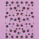 halpa Siirtokuvat-1 pcs 3D Nail Stickers Lovely kynsitaide Manikyyri Pedikyyri Päivittäin Kukka / Muoti / 3D-kynsitarrat