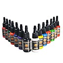 olcso Tetkó tinta-Dragonhawk Tattoo Ink 14-Pack Primary Color Set 0.5Oz palackok
