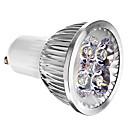 billige LED-lyspærer-4 W 400 lm GU10 LED-spotpærer 4 LED perler Kjølig hvit 85-265 V