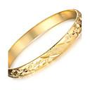 preiswerte Moderinge-Damen Manschetten-Armbänder - 18K vergoldet, vergoldet Einzigartiges Design, Modisch Armbänder Gold Für Hochzeit Party Alltag