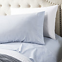 cheap Sheet Sets & Pillowcases-Sheet Set - Microfibre Pigment Print Solid Colored 2pcs Pillowcases (only 1pc pillowcase for Twin or Single)