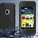 baratos Suportes & Apoios para Carros-Capinha Para iPhone 7 / iPhone 7 Plus / iPhone 6s Plus iPhone 8 / iPhone 8 Plus / iPhone 7 Água / Dirt / à prova de choque Capa Proteção Completa Côr Sólida Rígida PC para iPhone 8 Plus / iPhone 8