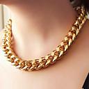 hesapli Dini Takılar-Kadın's Zincir Kolyeler - İfade Siyah, Gümüş, Altın Kolyeler Mücevher Uyumluluk Parti, Günlük
