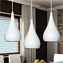 ieftine Lumini Pandativ-KAKAXI Lumini pandantiv Lumină Spot - LED, 90-240V, Alb Cald / Alb, Bec Inclus / 10-15㎡