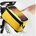 cheap Bike Frame Bags-ROSWHEEL Cell Phone Bag / Bike Frame Bag 5.5 inch Touch Screen, Waterproof Cycling for Samsung Galaxy S6 / LG G3 / Samsung Galaxy S4 Blue / Black / iPhone 8/7/6S/6 / Waterproof Zipper