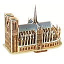 cheap 3D Puzzles-3D Puzzle Wooden Puzzle Paper Model Famous buildings Paper Boys' Girls' Toy Gift