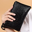 cheap Clutches & Evening Bags-Women's Bags PU Wristlet for Event / Party / Sports / Formal Black / Red