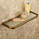 זול מתלים לחלוק-צדף לחדר האמבטיה עתיקה פליז / זכוכית יחידה 1 - אמבטיה