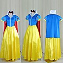 cheap Movie & TV Theme Costumes-Snow White Princess Fairytale Cosplay Costume Party Costume Men's Women's Halloween Festival / Holiday Outfits Blue Patchwork