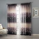 cheap Sheer Curtains-Sheer Curtains Shades Bedroom Polyester Print