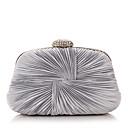preiswerte Clutches & Abendtaschen-Damen Taschen Polyester Abendtasche Crystal / Strass Silber / Purpur / Blau / Hochzeitstaschen
