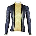 ieftine Colier la Modă-ILPALADINO Pentru femei Manșon Lung Jerseu Cycling - Negru Bicicletă Jerseu, Uscare rapidă, Respirabil