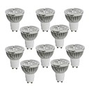 cheap LED Spot Lights-10pcs 4 W 350-400 lm GU10 LED Spotlight 4 LED Beads High Power LED Warm White / Cold White / Natural White 85-265 V / 10 pcs / RoHS