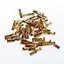 billige Elektriske plugger & støpsler-2.8mm kaldt terminal siv fulle kobbertrykk linje ledningsnett plugg våren med (50stk)
