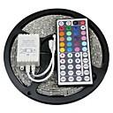 baratos Faixas de Luzes LED-ZDM® 5m Faixas de Luzes LED Flexíveis / Conjuntos de Luzes / Faixas de Luzes RGB 150 LEDs 5050 SMD 1 controlador remoto de 44 teclas RGB Cortável / Impermeável / Conetável 12 V 1conjunto / IP65