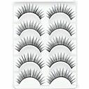 preiswerte Wimpern Accessoires-Augenwimpern Falsche Wimpern 10 pcs Voluminisierung Locken Faser Alltag Natürlich lang - Bilden Alltag Make-up Kosmetikum Pflegezubehör