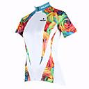 ieftine Jerseru Cycling-ILPALADINO Jerseu Cycling Pentru femei Manșon scurt Bicicletă Jerseu Topuri Îmbrăcăminte Ciclism Uscare rapidă Rezistent la Ultraviolete