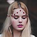 hesapli Saç Mücevheri-moda loveliness renkli alaşım saç takı (1 adet) püskül (kırmızı, siyah)