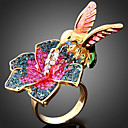 cheap Car Headlights-Women's Statement Ring - Cubic Zirconia Bird, Animal Fashion One Size Screen Color For Party