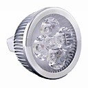 رخيصةأون سبوت لايتس LED-1PC 5W 500 lm GU5.3(MR16) LED ضوء سبوت MR16 4 الأضواء طاقة عالية LED تخفيت أبيض دافئ أبيض كول AC/DC 12